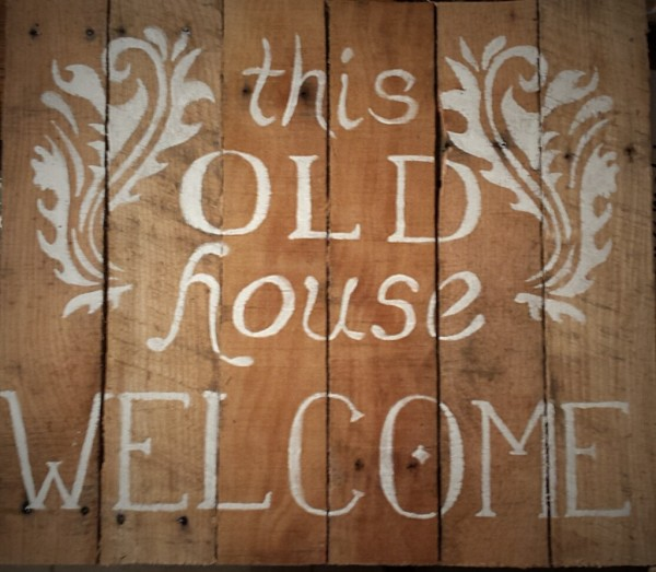 """This Old House"" Sign"